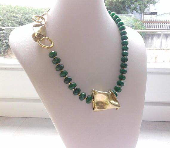 girocollo radice smeraldo girocollo pietra verde girocollo