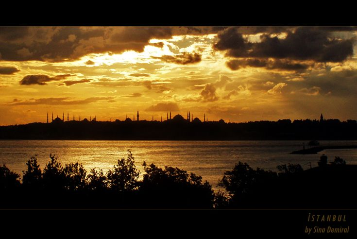 Istanbul's Silhouette by ~sinademiral on deviantART