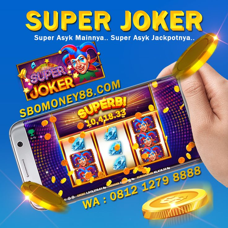 Slot Game Super Joker Gampang Menang Joker, Game, Mainan