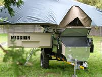 Camper Small Camping Trailer | Off Road Camper Trailer Hire | Campervan Australia Hire