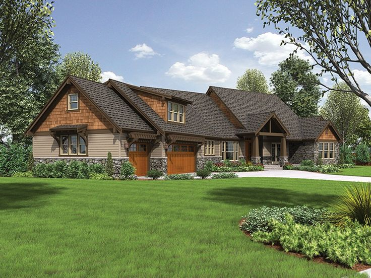 EPlans Craftsman Style House Plan Impressive Lodge 3888 Square Feet And 4 Bedrooms