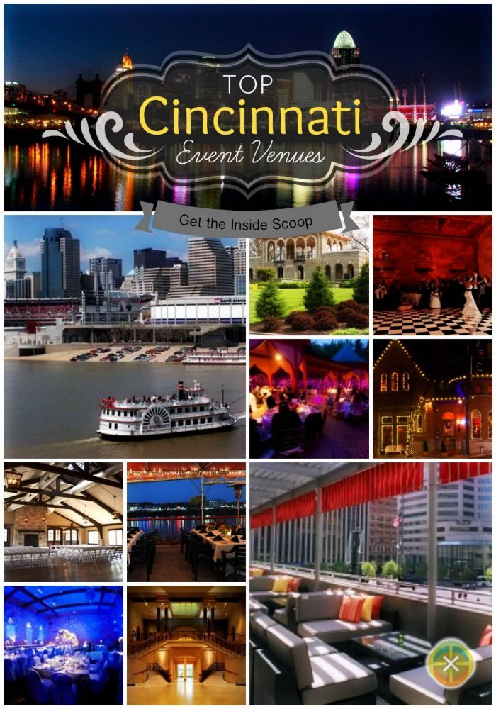 This blog offers a list of some of the best #Cincinnati event venues. You can also search others for event size, venue type and style and other key needs. #snappening