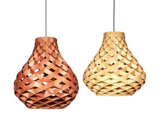 18 best felted lampshades images on pinterest light fixtures copper id bamboo weave light greentooth Images