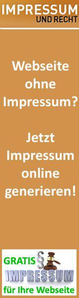 Impressum-Recht.de - Was ist der Inhalt von einem Impressum ?