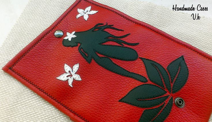 A slender and beautiful fairy. Tobacco Case Synthetic Leather  https://www.facebook.com/Vassoartistiko