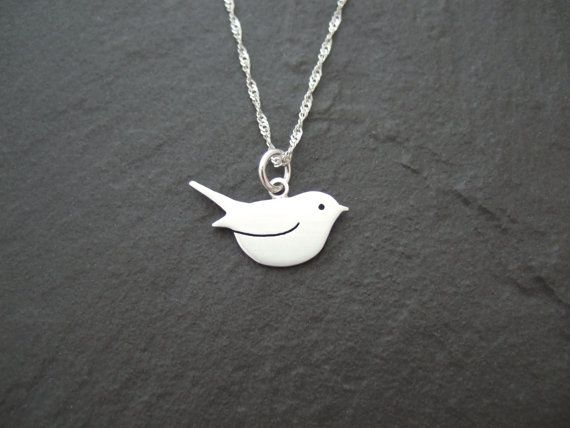 Silver robin red breast pendant https://www.etsy.com/uk/listing/240326654/sterling-silver-robin