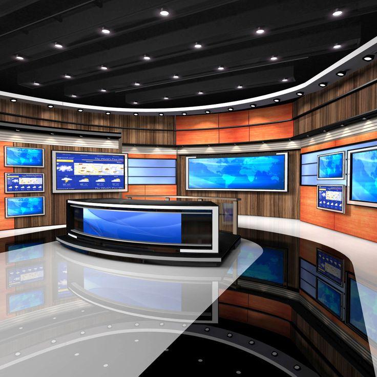 34 best images about tv  studio set on pinterest