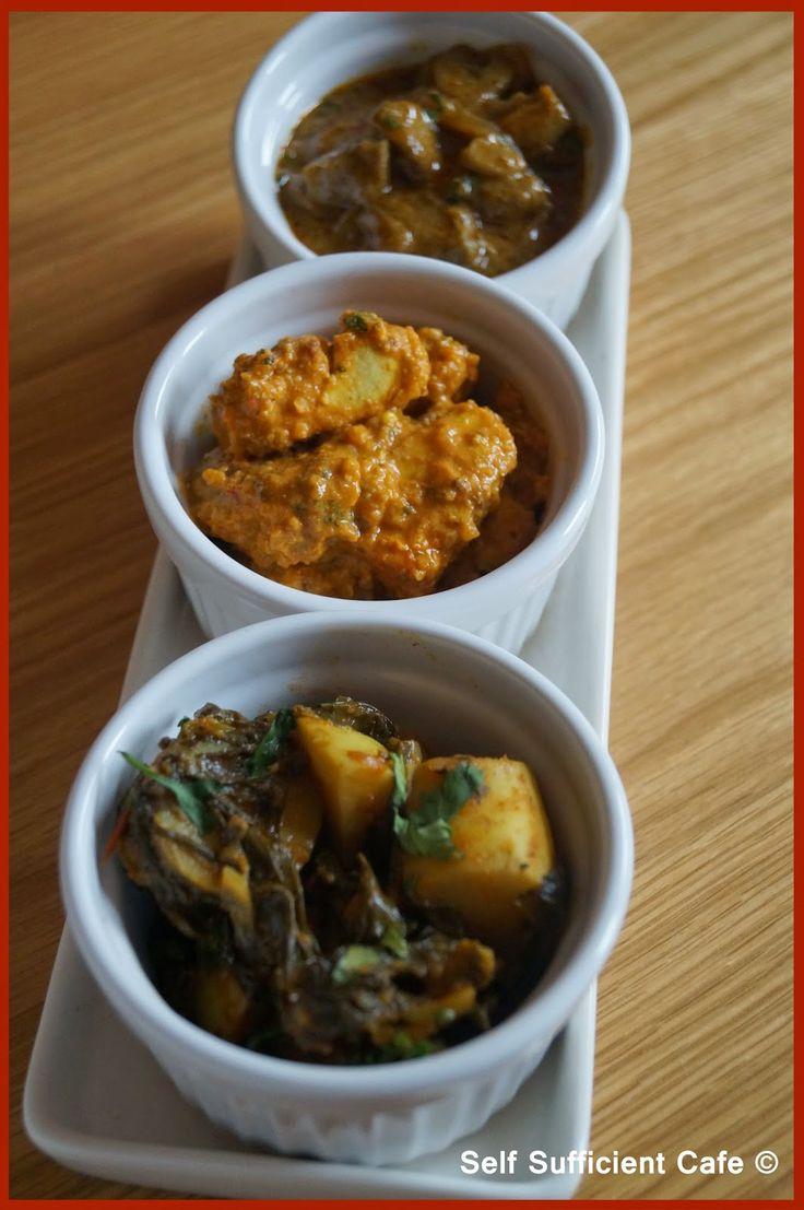 Spinach & Potato Curry