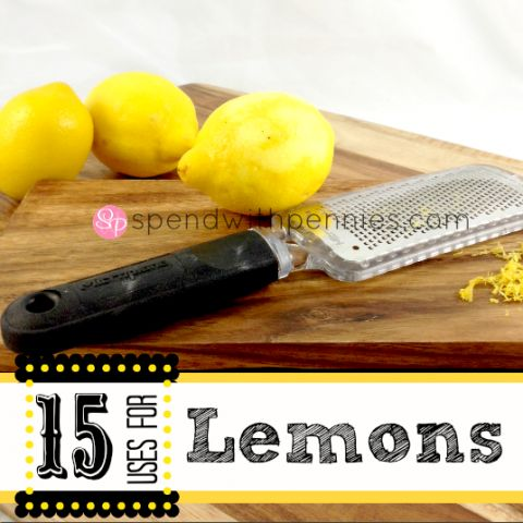 15 Great uses for lemons!  Awesome for cleaning..  but so many other things you can do with them (besides make lemonade :) )!