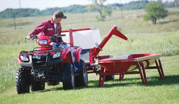 Not ready to buy a tractor yet? Your ATV/UTV can do a surprising amount of farm work with the right attachments.