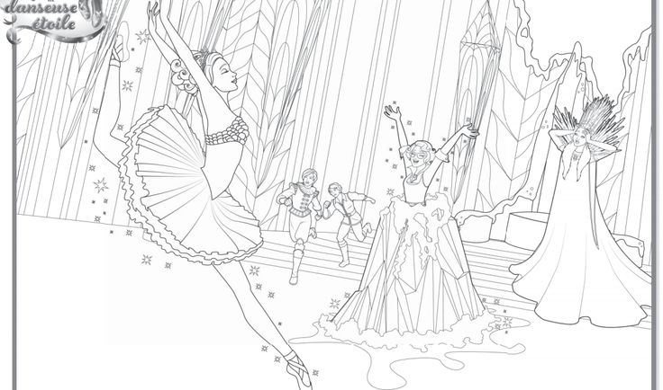 24 best Barbie coloring pages images on Pinterest ...