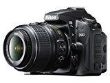 Nikon D90 SLR-Digitalkamera (12 Megapixel, Live-View, HD-Videofunktion) Kit inkl. 18-55mm 1:3,5-5,6G VR Objektiv (bildstab.)