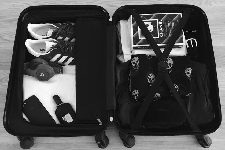 Vacay Vibes! JETT BLACK Luggage__#BlackAndWhite #AirportLife #Jetsetter #Packing