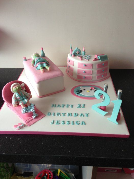 17 Best Images About Makeup Spa Cakes On Pinterest Cake