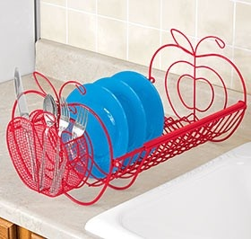 Apple Dish Drainer @ Harriet Carter