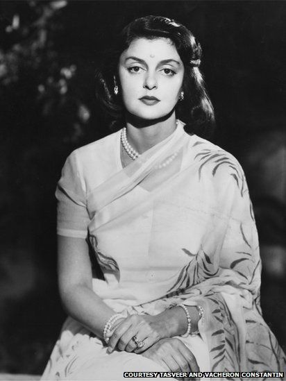 'A portrait of Maharani Gayatri Devi, princess of the Indian princely state of Jaipur, 1945.'