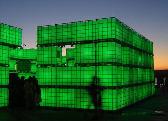 kubik modular light brick nightclub