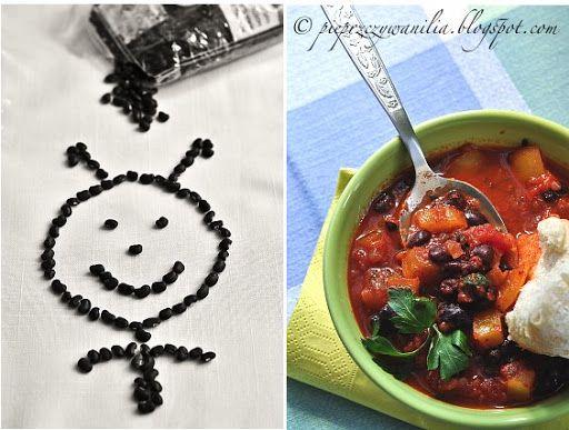 pieprz czy wanilia blog kulinarny: Czarna fasola jednogarnkowo