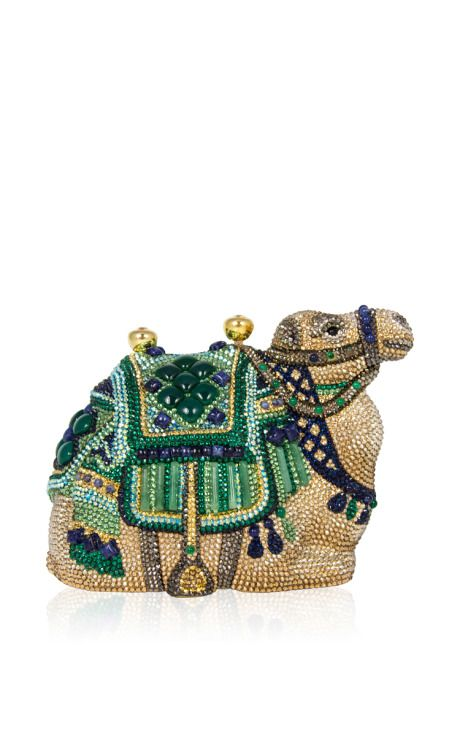 Born Whilst Traveling Clutch by Judith Leiber for Preorder on Moda Operandi