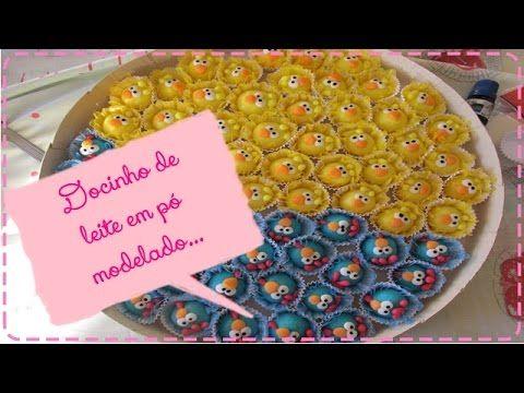 Docinho de leite em pó modelado - Galinha Pintadinha e Pintinho Amarelinho - YouTube