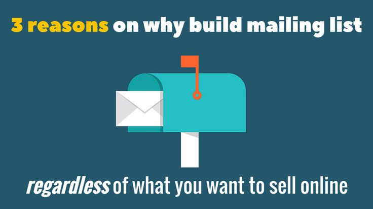 Mailing list is one of the key components in online business and REGARDLESS of what kind of offer we want to promote and here are 3 important resons for that:  http://brandonline.michaelkidzinski.ws/3-reasons-on-why-build-mailing-list/  #email #emailmarketing