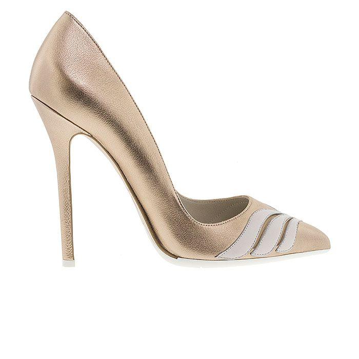 1203A05-BRONZE LEATHER www.mourtzi.com #pumps #heels #mourtzi #greekdesigners