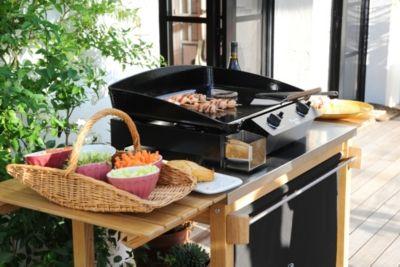 La plancha #ENO, c'est la garantie d'une cuisine saine, sur une plancha de fabrication française!