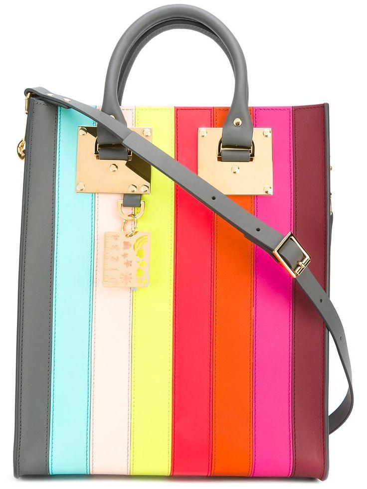 sophie hulme box tote bag, Sophie Hulme Rainbow tote Women Bags, sophie hulme nano bowling bag fabulous collection