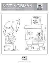 Not Norman: A Goldfish Story Coloring Page   Read for the Record 2015   Classroom Printable