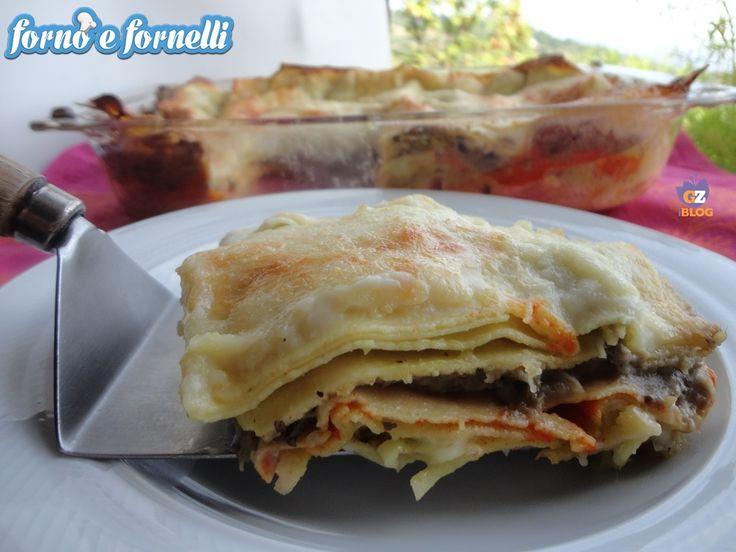 Lasagne alla vellutata di verdure