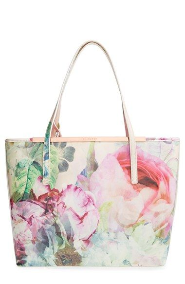 Ted Baker London 'Pure Peony' Shopper available at #Nordstrom