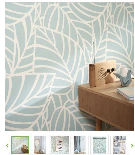 leroymerlin 17€ | Papier peint, Peindre mur, Papier peint vinyle