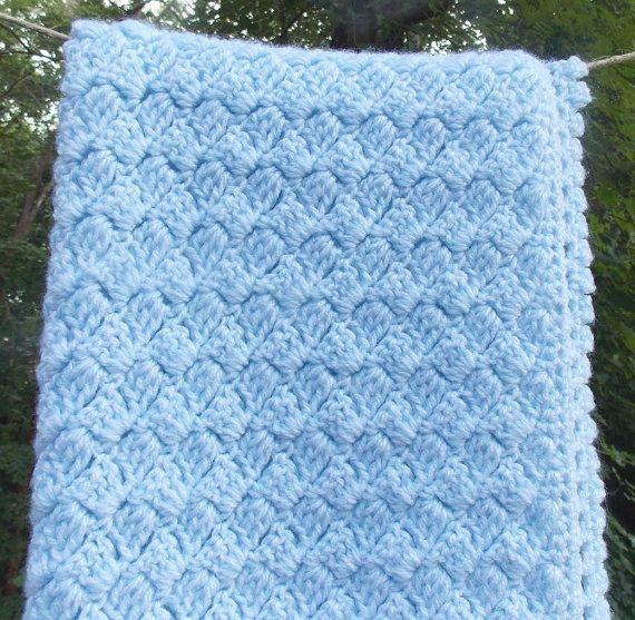 Cubierta de asiento de automóvil manta de pálido azul bebé
