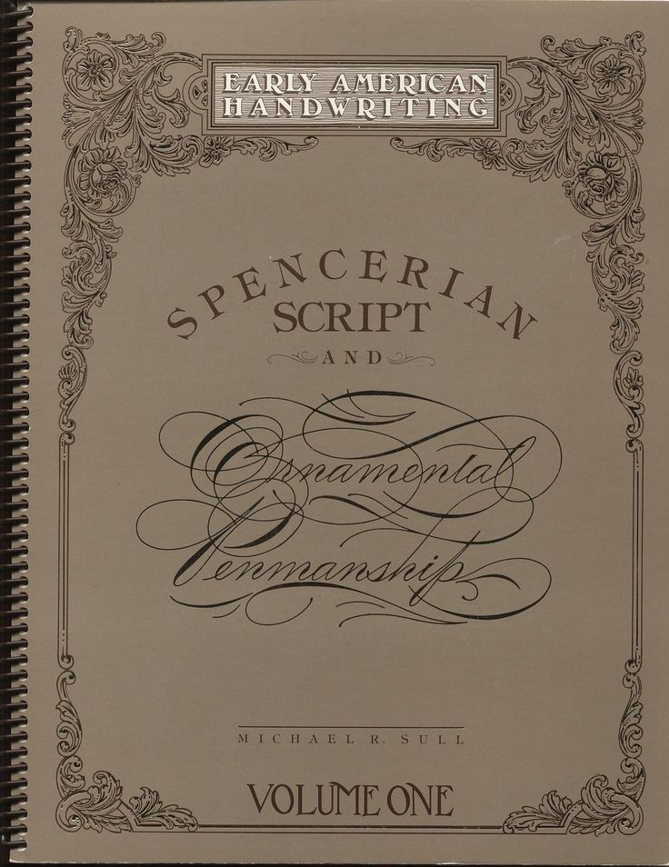 107 Best Calligraphy Spencerian Images On Pinterest
