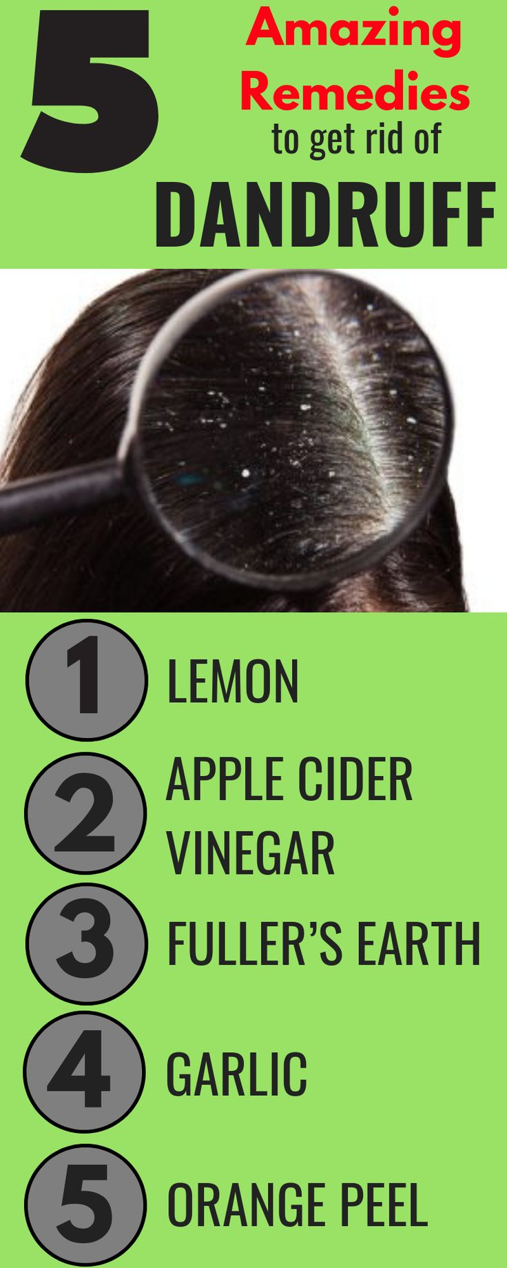 How to get rid of dandruff fast 5 amazing home remedies