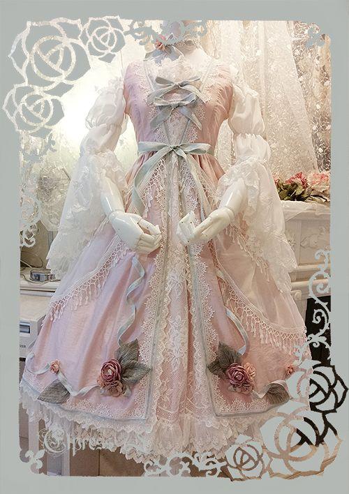 Elpress L -Versailles In The Dream- Classic Lolita Jumper Dress