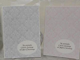 kartki,karteczki,pudełeczka i takie tam...: Książeczki na chrzest