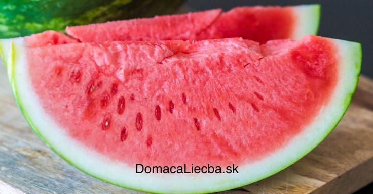 Vedeli ste, že červený melón je nielen veľmi chutný, ale aj extrémne zdravý? Pozrite sa, aké množstvo ochorení (aj chronické) dokáže liečiť.