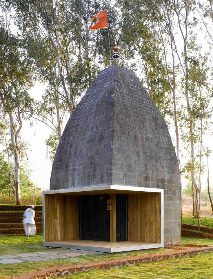 worth visiting. shiv temple by sameep padora & associates.