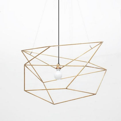 Modern Chandeliers Spica Light Brass
