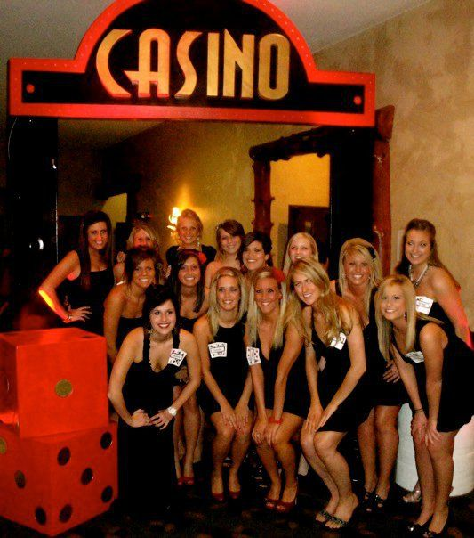 Alpha Phi of Mizzou hosts an annual poker tournament to benefit their philanthropy Cardiac Care.