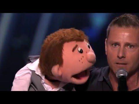 The winner of America's Got Talent 2015 Season 10 - Paul Zerdin ventriloquist - YouTube