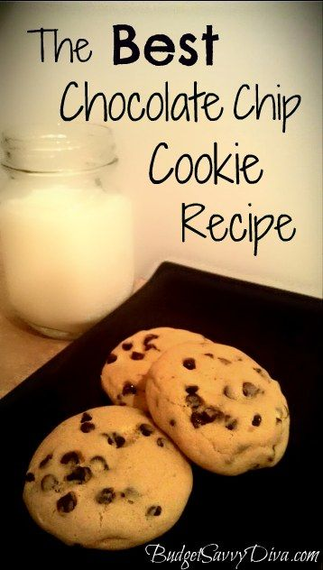 Every Kitchen Needs A Stand By Chocolate Chip Recipe This Is Budget Savvy Diva's. Simple to make. Budget Friendly. Easily Made Gluten - Free.