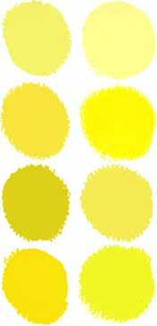 Different Shades Of Yellow 229 best yellows mixed + all information & meanings images on