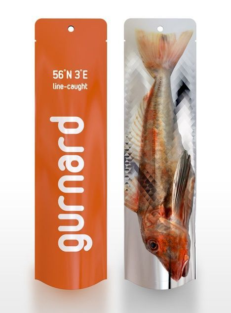 Pouch Direct Australia manufactures highly durable and cost-effective #FishPackaging bags equipped with euro-slot, transparent window and degassing valve. #fish #seafood #frozenfood #meat #prawns