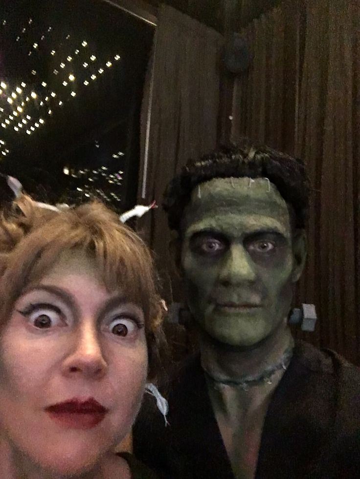 Frankenstein make over Eva van de horst make up for Makeoverfactory