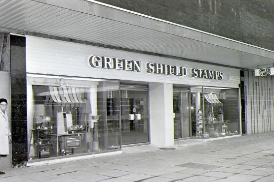 February 1970..Green Shield Shop