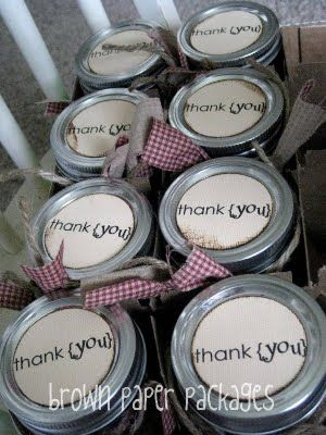 GREAT idea for hostess gifts for showers!