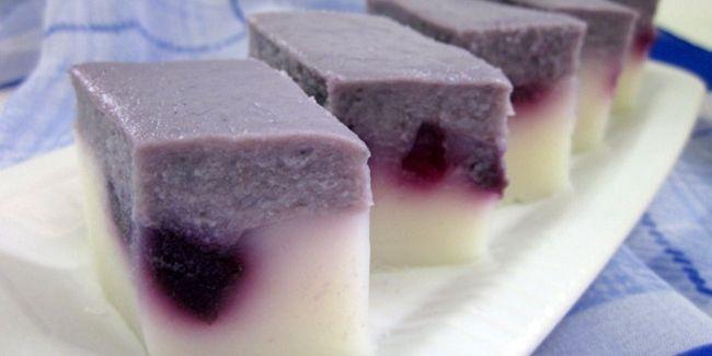 Vemale.com - Kue lapis ketela ungu yang cantik ini sangat mudah untuk dibuat.