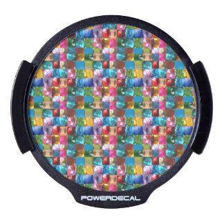 LED Window Decal Colorful crystal ART  NavinJOSHI